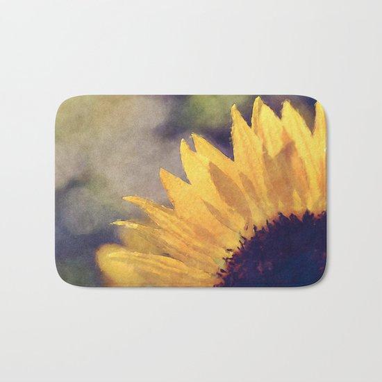 Another sunflower - Flower Flowers Summer Bath Mat
