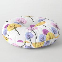 Trees Floor Pillow