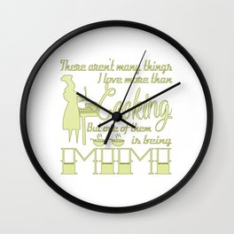 Cooking Mimi Wall Clock