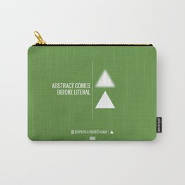 Perfect Logo Series (5 of 11) - Green Carry-All Pouch