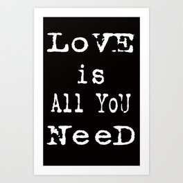 love cards Art Print