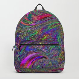 Anyone else see a trippy owl? Backpack
