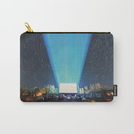 At the Drive In Carry-All Pouch