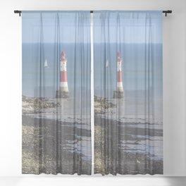 Beachy Head Lighthouse Sheer Curtain