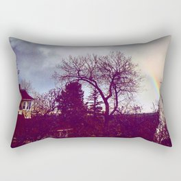 Hidden Steeple Rectangular Pillow