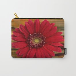 Red Daisy Abstract Carry-All Pouch