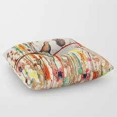 les gypsies Floor Pillow
