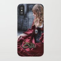 mother of dragons iPhone & iPod Cases featuring mother of dragons by YattaGiulia