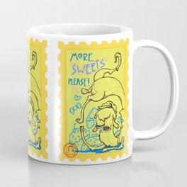 lama goloso di dolci Coffee Mug