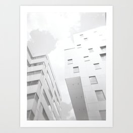 Across the Street Art Print