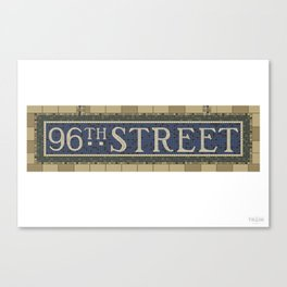 96th Street Canvas Print