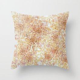 Antique Plans (Cityspace #181) Throw Pillow