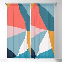 Modern Geometric 34 Blackout Curtain