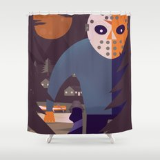 Final Chapter Shower Curtain