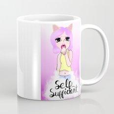 Self Sufficient Kitty Mug