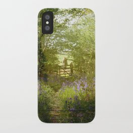 bluebell meadows iPhone Case