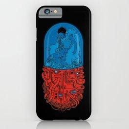 Cyberpunk Experiment iPhone Case