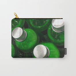 Drink Green. Fashion Textures Carry-All Pouch