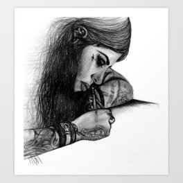 """Kat Von D - """"Make Your Mark"""" Art Print"""