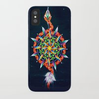 chakra iPhone & iPod Cases featuring Muladhara Chakra by DiskoGalerie