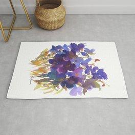 Petite Violets Rug