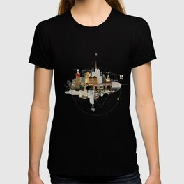 Collage City Mix 5 T-shirt