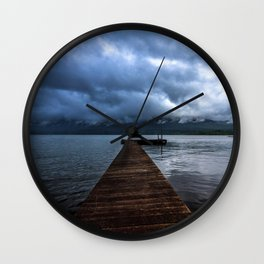 Lake Quinault Wall Clock
