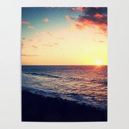 Kalalau Sunset Poster