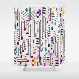 MY SONG Shower Curtain