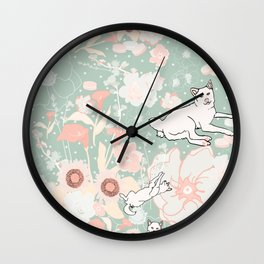 Vintage Momo Wonderland Wall Clock