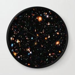 Hubble XDF Wall Clock