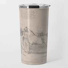 Cast Off Machiners Selling By Auction,February 16, 1835 Travel Mug