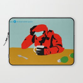 Hold X To Dual Wield Laptop Sleeve