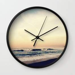 Summer Haze Wall Clock
