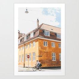 Copenhagen Cycling Kunstdrucke
