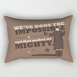 Impossible Bernie Rectangular Pillow