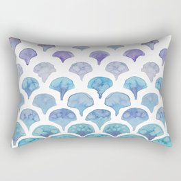 Mermaid Tail Rectangular Pillow