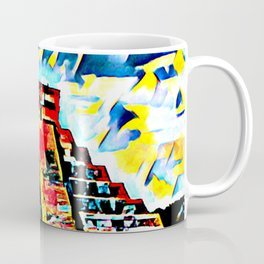 Ruins In Abstract Coffee Mug