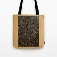 arya Tote Bags featuring - 1986 - by Magdalla Del Fresto