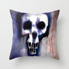 Grimly Throw Pillow