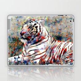 vibrant tiger Laptop & iPad Skin