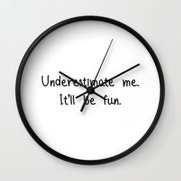 Underestimated Wall Clock