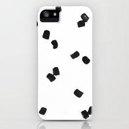 Dashing Strokes iPhone Case