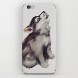 Husky Love iPhone Skin