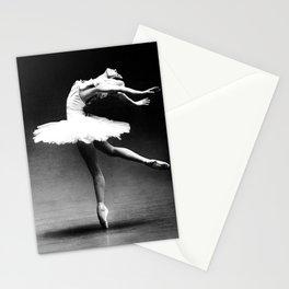 Swan Lake Ballet Magnificent Natalia Makarova black and white photograph  Stationery Cards