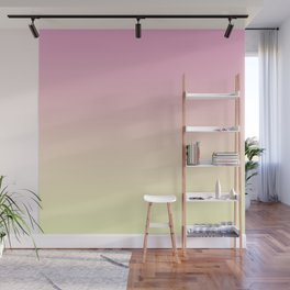Colorful Gradient Pink Wall Mural