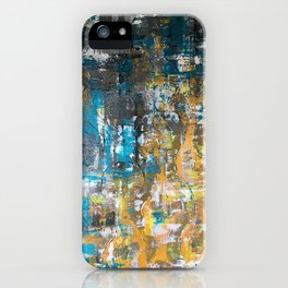 Get your hands dirty iPhone Case