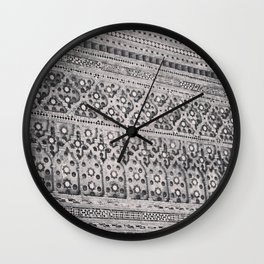 Cathedral detail Wall Clock