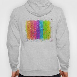 Splatter Rainbow Hoody