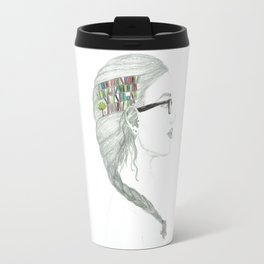 Books on the Mind Travel Mug